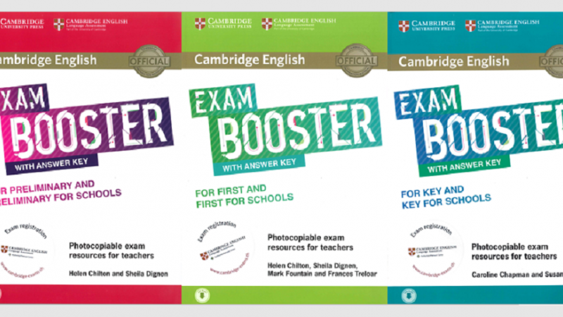 New in our Online Shop: Cambridge English Exam Booster with